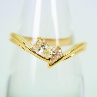 K18 ダイヤモンド リング 16号[f50-5] (リング(指輪))