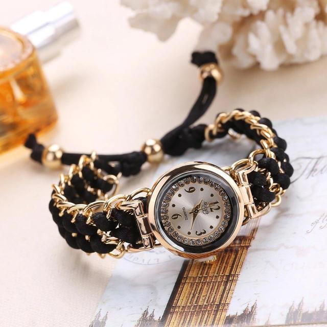 レディース腕時計   チェーンブラック     新品の通販 by セシボン|ラクマ