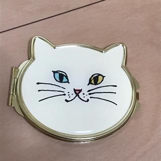 アフタヌーンティー(AfternoonTea)の手鏡  ミラー  猫 (ミラー)