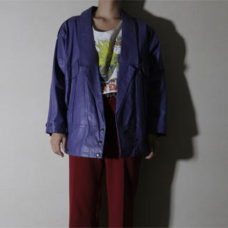 ジョンローレンスサリバン(JOHN LAWRENCE SULLIVAN)の【Vintage】leather jacket レザージャケット (レザージャケット)
