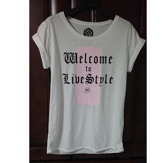マウジー(moussy)の安室奈美恵×MOUSSY LIVE STYLE 2014 ツアーTシャツ(ミュージシャン)