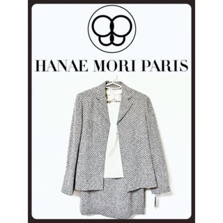 ハナエモリ(HANAE MORI)の送料無料新品未使用HANAE MORI 3点スーツ13万円(スーツ)