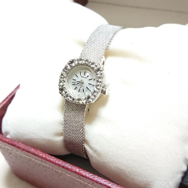 SEIKO - SEIKO アンティーク腕時計 手巻き式の通販 by メープル's shop|セイコーならラクマ