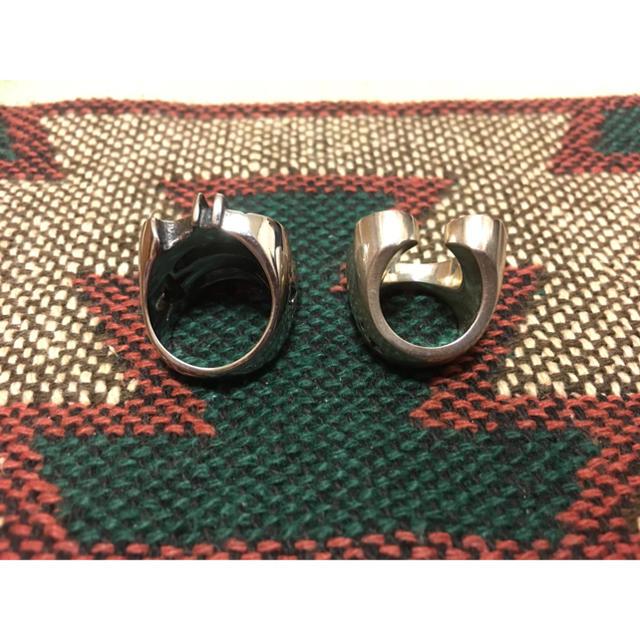 TENDERLOIN(テンダーロイン)のぽん様専用 テンダーロイン風リングセット メンズのアクセサリー(リング(指輪))の商品写真