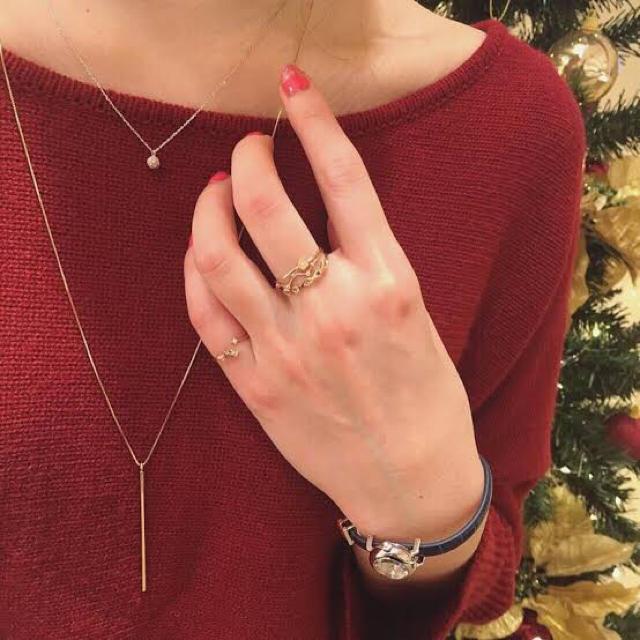 ete(エテ)のete 2016年 限定 クリスマス リング 11号 レディースのアクセサリー(リング(指輪))の商品写真