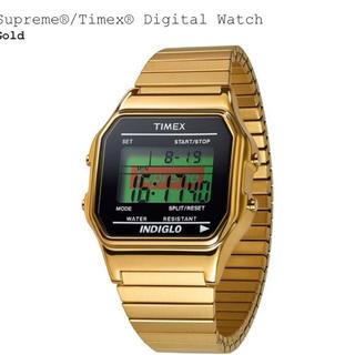 シュプリーム(Supreme)のsupreme  timex gold(腕時計(デジタル))