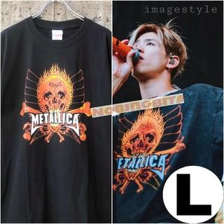 ワンオクロック(ONE OK ROCK)のL)METALLICA  REBEL Tシャツ(Tシャツ/カットソー(半袖/袖なし))