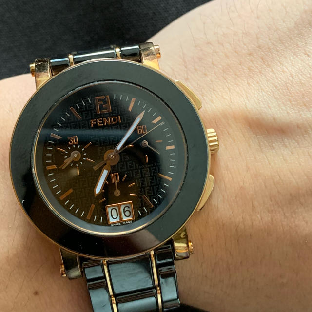 FENDI - FENDI 腕時計 セラミック 38mmの通販 by ryota738's shop|フェンディならラクマ