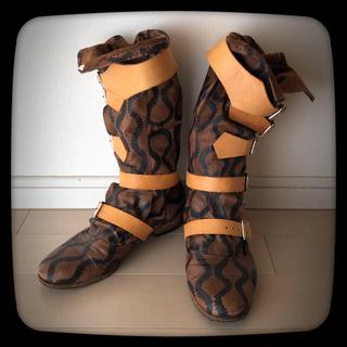 ヴィヴィアンウエストウッド(Vivienne Westwood)のヴィヴィアン*スクイグル*パイレーツ*ブーツ*UK7(ブーツ)