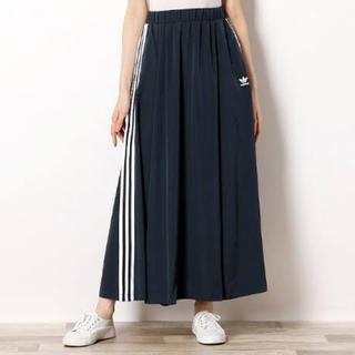 アディダス(adidas)のアディダスオリジナルス☆3ストライプロングスカート(ロングスカート)