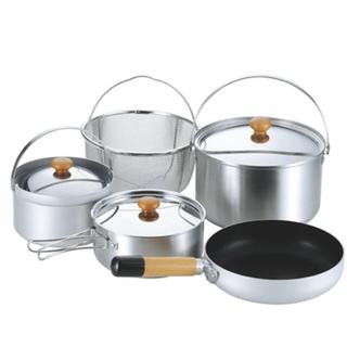 ユニフレーム(UNIFLAME)のユニフレーム fan5 duo クッカーセット 鍋 フライパン (調理器具)