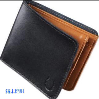 アーバンリサーチ(URBAN RESEARCH)の(未開封発送)開運 馬蹄印付き 本革仕様 アーバンリサーチ 二つ折り財布(折り財布)