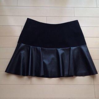マーキュリーデュオ(MERCURYDUO)のMercuryduo❤︎切りかえスカート(ミニスカート)