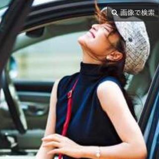 ミラオーウェン(Mila Owen)の新品未使用☆美品☆ミラオーウェン☆ブラック(黒)☆帽子☆(ハンチング/ベレー帽)