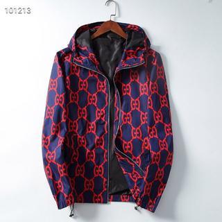 グッチ(Gucci)のGucciI2019超人気のカジュアルメンズファッションプリントジャケットL(ブルゾン)