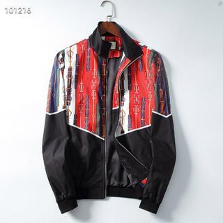 グッチ(Gucci)のGUCCI人気のカジュアルメンズファッションプリントジャケットXL(ブルゾン)