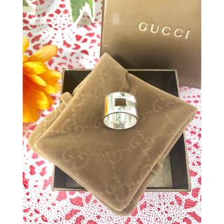 グッチ(Gucci)のGUCCI 指輪 15〜16号 925 シルバーリング イタリア製(リング(指輪))
