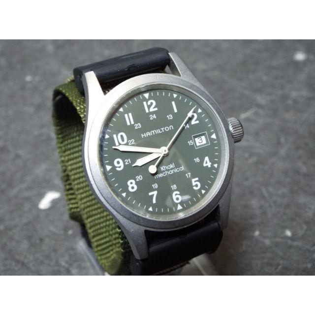 Hamilton - ハミルトン カーキメカニカル 腕時計 MB750の通販 by R's shop|ハミルトンならラクマ