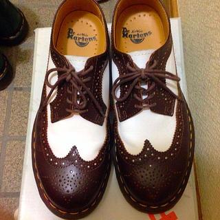 ドクターマーチン(Dr.Martens)のドクターマーチン ウイングチップシューズ(ローファー/革靴)