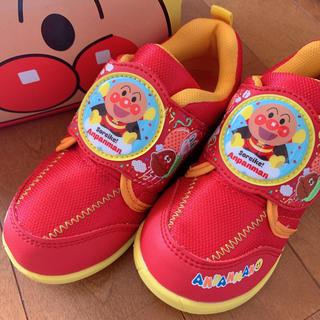 アンパンマン(アンパンマン)の新品未使用♡アンパンマンシューズ♡靴 スニーカー♡16cm(スニーカー)