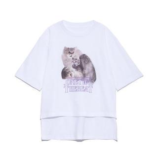 ファーファー(fur fur)のFURFUR プリントTee(Tシャツ(半袖/袖なし))