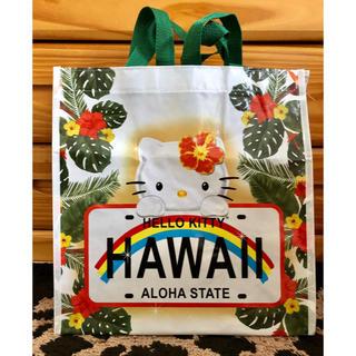 ハローキティ(ハローキティ)のハワイ限定! ハワイで購入! アロハキティのエコバッグ(エコバッグ)