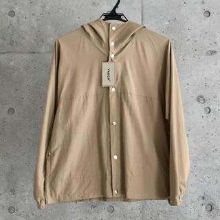 ヤエカ(YAECA)の新品 YAECA 60/40クロス フードシャツ(マウンテンパーカー)