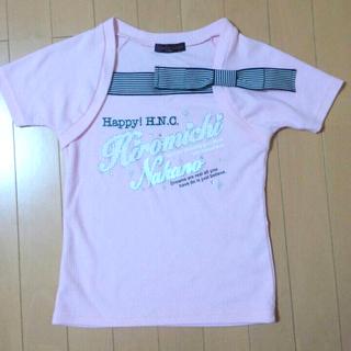 シマムラ(しまむら)の半袖デザインTシャツ(Tシャツ/カットソー)