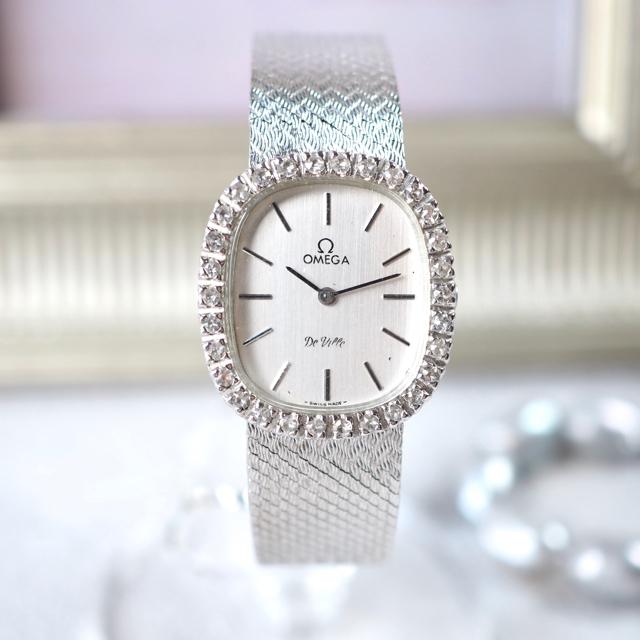 OMEGA - 超美品🔹OMEGA オメガ ダイヤベゼル 保存箱付🔹ロレックス カルティエの通販 by Plumage❤︎antique watch|オメガならラクマ
