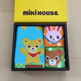 ミキハウス(mikihouse)のミキハウス タオルセット(タオル/バス用品)