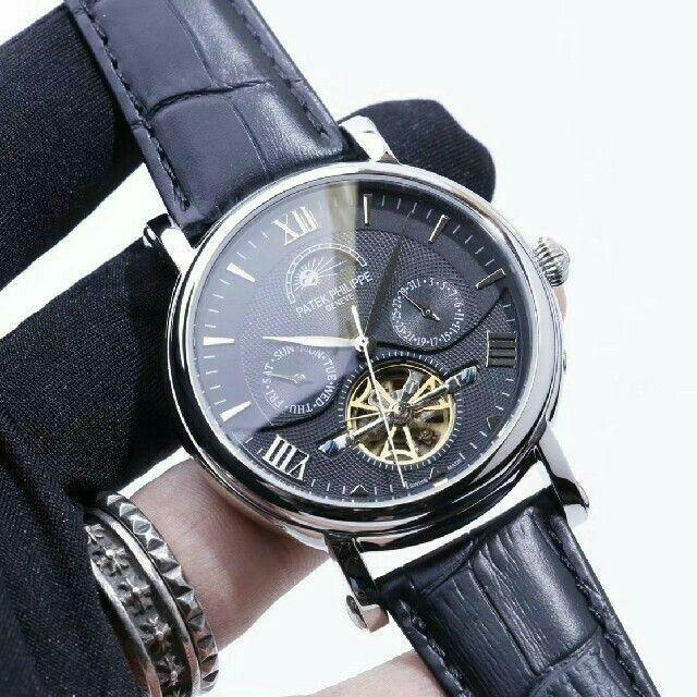 PATEK PHILIPPE - PATEK PHILIPPE 自動巻き 腕時計  新品 人気商品 の通販 by ミチコ|パテックフィリップならラクマ
