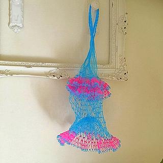 ジャーナルスタンダード(JOURNAL STANDARD)の新品 タイ 網バッグ 編みバッグ ネット スパ ビーチ 旅行  網の店おおやま(かごバッグ/ストローバッグ)