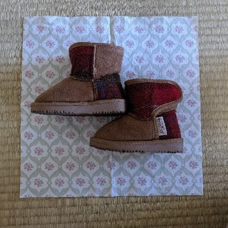 シマムラ(しまむら)の🌟美品🌟ハリスツイード ブーツ13cm(ブーツ)