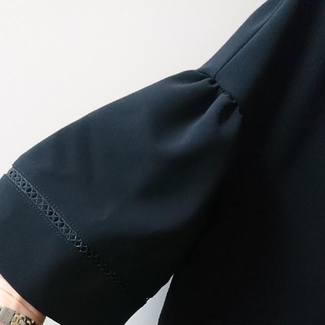 FOXEY(フォクシー)のFOXEY  ジャケット 黒 新品タグ付 レディースのジャケット/アウター(テーラードジャケット)の商品写真