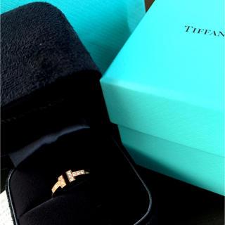 ティファニー(Tiffany & Co.)のティファニーTワイヤーリング PG(リング(指輪))