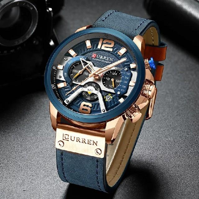 腕時計 メンズ クロノグラフ 値下げ交渉ありの通販 by bit's shop|ラクマ