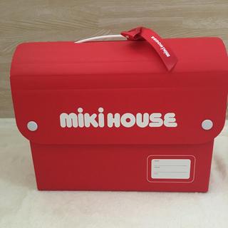 ミキハウス(mikihouse)のミキハウス  ギフトボックス リボン付き 空き箱(ショップ袋)