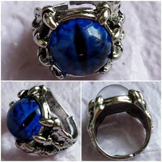 義眼リング 目玉リング メンズ指輪 レディースアクセサリー コスプレ 小物 綺麗(リング(指輪))