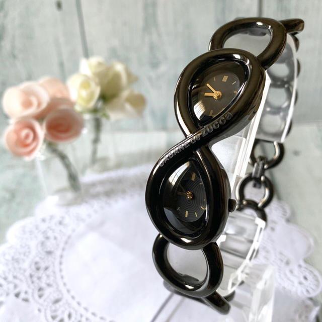 CABANE de ZUCCa - 【未使用品】 CABANE de ZUCCa ズッカ 腕時計 デュアルタイム 黒の通販 by soga's shop|カバンドズッカならラクマ