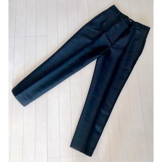 Demi-Luxe BEAMS - 新品 Demi-Luxe BEAMS シルクウールパンツ 36 ブラック