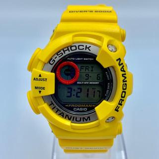 ジーショック(G-SHOCK)の【美品!レッドアイ!】フロッグマン DW-9900 赤目(腕時計(デジタル))