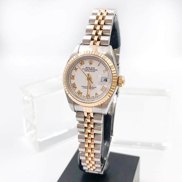 ROLEX - 【OH済/仕上済】ロレックス デイトジャスト コンビ レディース 腕時計の通販 by LMC|ロレックスならラクマ