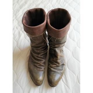 ミハラヤスヒロ(MIHARAYASUHIRO)の値引不可【まさひとブログ】ミハラヤスヒロ☆レイヤードブーツ(ブーツ)