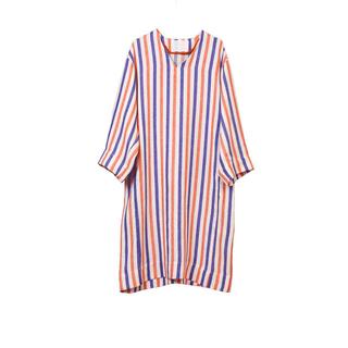 ロンハーマン(Ron Herman)のMYLAN / STRIPED LINEN Oversized Dress(ロングワンピース/マキシワンピース)