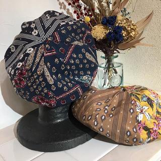 カオリノモリ(カオリノモリ)の新品未使用タグ付き ベレー帽(ハンチング/ベレー帽)