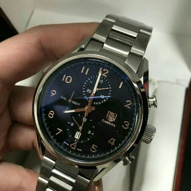 TAG Heuer - TAG HEUER メンズ 腕時計 タグホイヤー カレラ クロノグラフの通販 by cvn64gio8's shop|タグホイヤーならラクマ