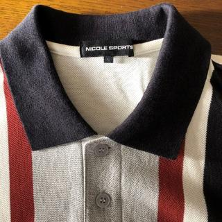 ニコル(NICOLE)の⭐️お値引き⭐️ NICOLE SPORTS ポロシャツ   (L)(ウエア)