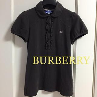 バーバリーブルーレーベル(BURBERRY BLUE LABEL)のBURBERRY BLUE LABEL バーバリー ポロシャツ(ポロシャツ)