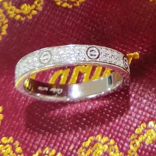 カルティエ(Cartier)の本物 リング Cartier シルバー 人気 (リング(指輪))