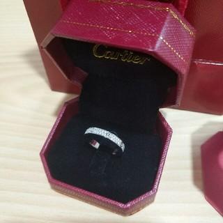 カルティエ(Cartier)のCartier レディース リング 指輪 超美品 ファッション 新品(リング(指輪))
